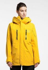Haglöfs - ELATION GTX JACKET  - Snowboard jacket - pumpkin yellow - 0