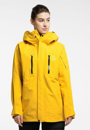 ELATION GTX JACKET  - Snowboard jacket - pumpkin yellow