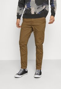 Only & Sons - ONSCAM AGED CUFF - Tygbyxor - kangaroo - 0