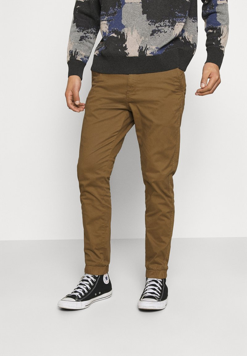 Only & Sons - ONSCAM AGED CUFF - Tygbyxor - kangaroo
