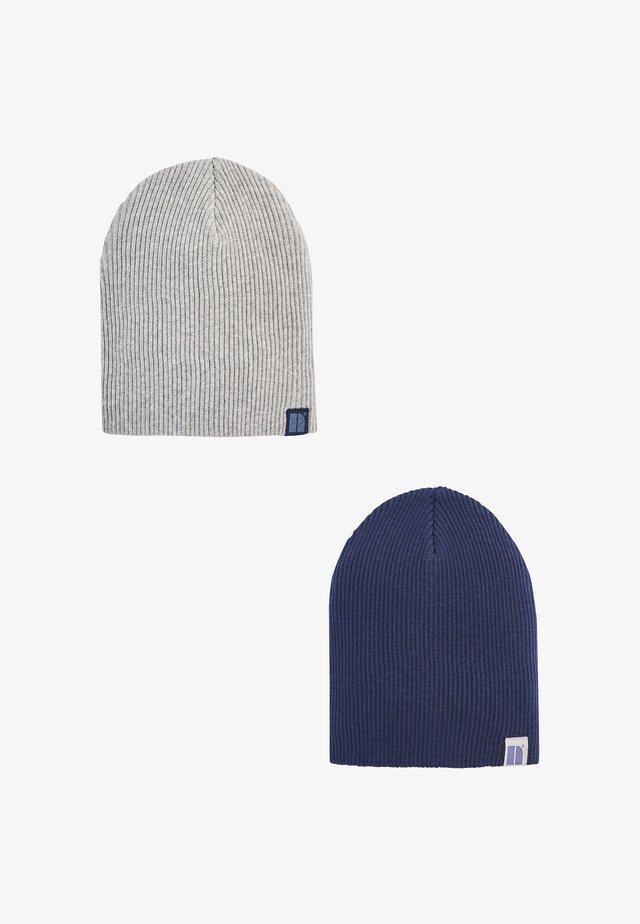 2 PACK  - Beanie - blue