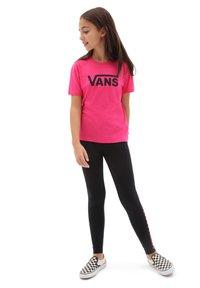 Vans - GR FLYING V CREW  - T-shirt print - orchid - 0