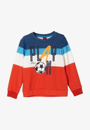 Sweatshirt - dark orange