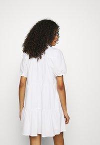 Abercrombie & Fitch - SHIRTDRESS - Sukienka koszulowa - white - 2