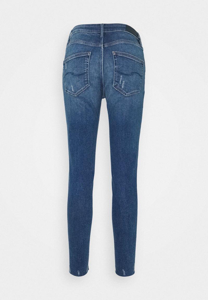 Q/S designed by Jeans Slim Fit - blue stret/blue denim v0ncE4