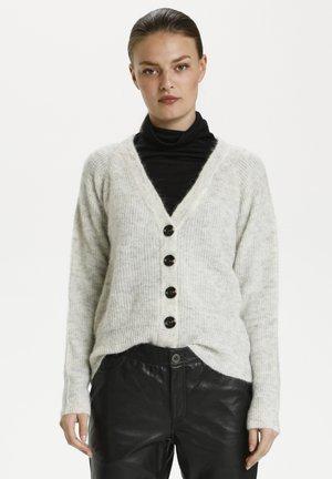 Vest - light grey melange