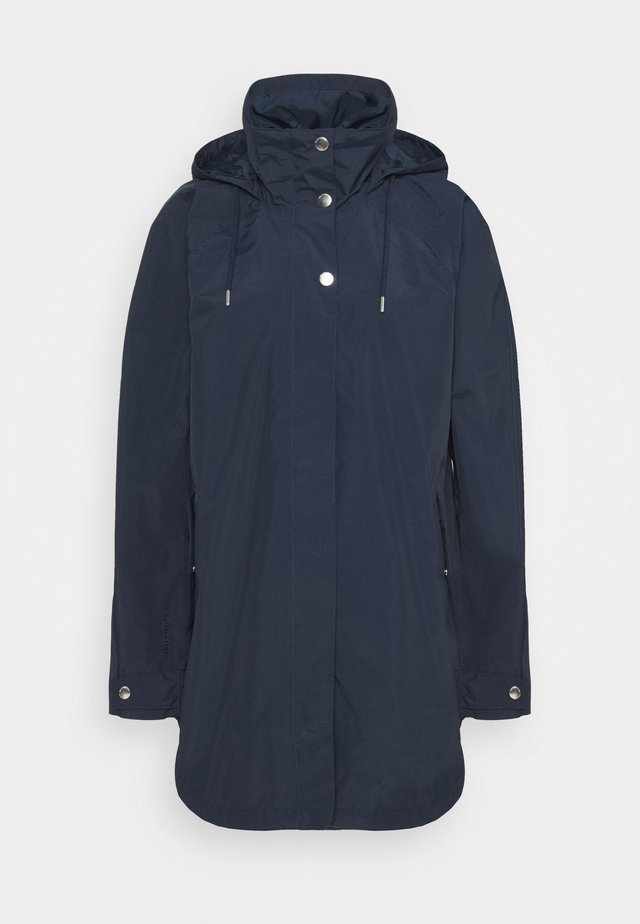 VALENTIA RAINCOAT - Hardshell jacket - navy