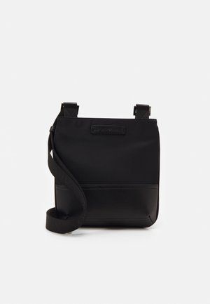 MESSENGER BAG UNISEX - Across body bag - black