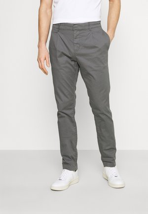 SOLID STRETCH - Chinos - castlerock grey