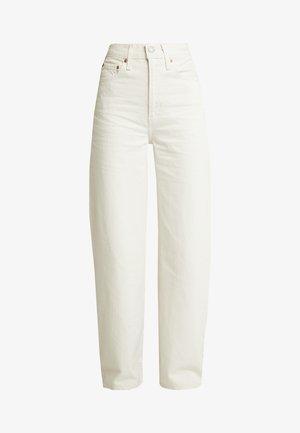 RIBCAGE WIDE LEG - Široké džíny - icy ecru