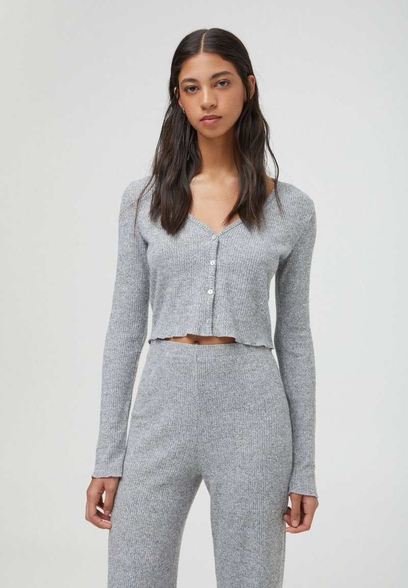 PULL&BEAR - Cardigan - grey