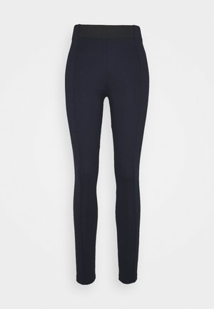 PUNTO PANT - Leggings - Trousers - navy