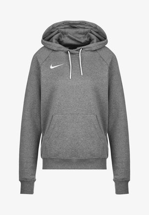 PARK  - Hoodie - charcoal heather / white