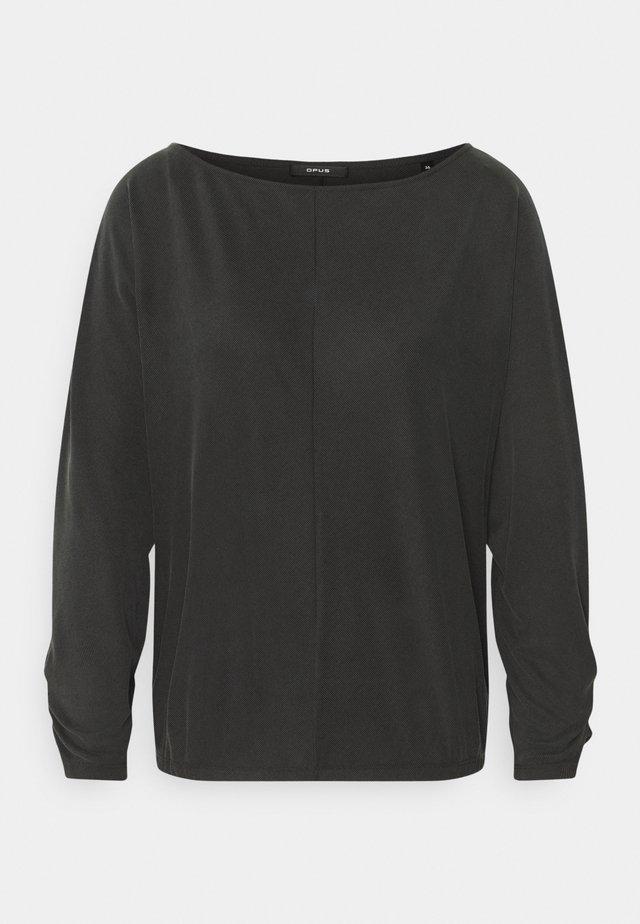 SEBOTA - Langærmede T-shirts - slate grey melange