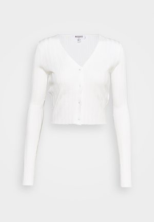 CARDIGAN - Cardigan - white