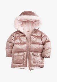Next - SHOWER RESISTANT  - Winter coat - pink - 0