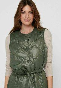 ONLY - Waistcoat - grape leaf - 3