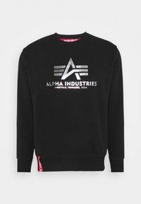 Alpha Industries - BASIC - Sweatshirt - black/metalsilver - 0