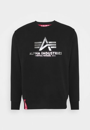 BASIC - Sweatshirt - black/metalsilver