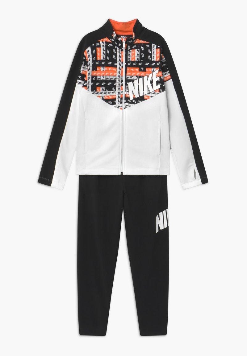 Nike Sportswear - TRACKSUIT SET - Trainingspak - black/white