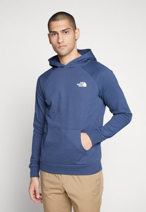 RAGLAN BOX HOODIE - Sweat à capuche - blue wing teal