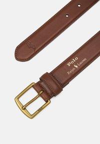 Polo Ralph Lauren - SMOOTH - Formální pásek - brown - 2