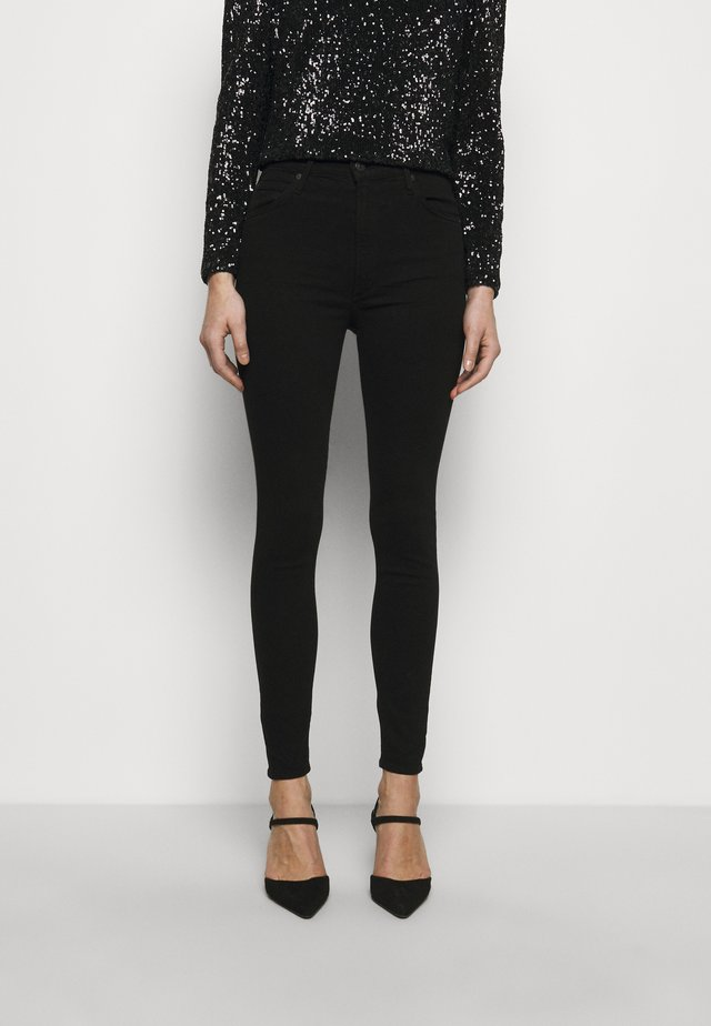 CHRISSY - Jeans Skinny Fit - plush black