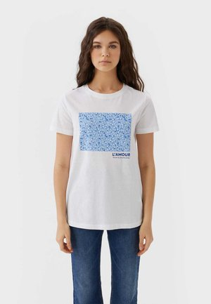 02593488 - T-shirts print - white