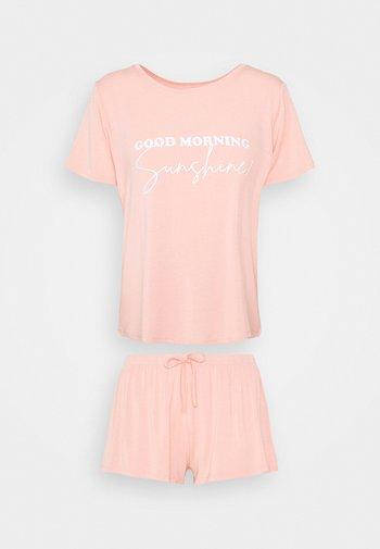 LUCY SHORT SET  - Pyjama - pink