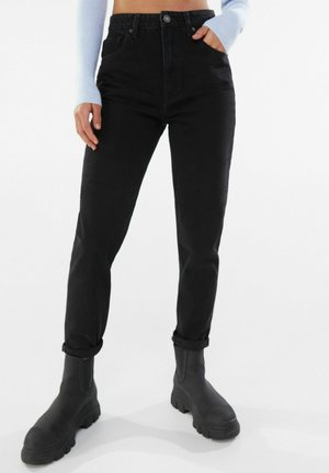 MOM FIT JEANS - Relaxed fit jeans - black
