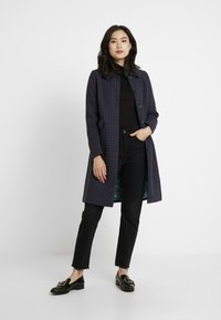 King Louie - NATHALIE COAT DARBY - Kåpe / frakk - autumn blue - 1