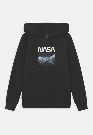 NASA ASTRONAUT HANDS HOODY UNISEX - Sweatshirt - black
