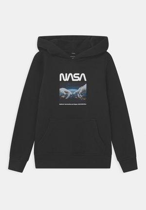 NASA ASTRONAUT HANDS HOODY UNISEX - Collegepaita - black
