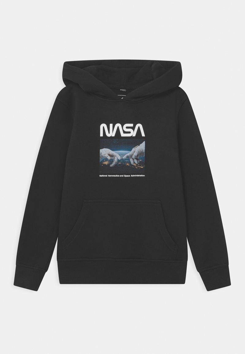 Mister Tee - NASA ASTRONAUT HANDS HOODY UNISEX - Sudadera - black