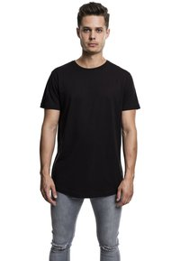 Urban Classics - SHAPED LONG TEE DO NOT USE - T-shirt - bas - black - 1