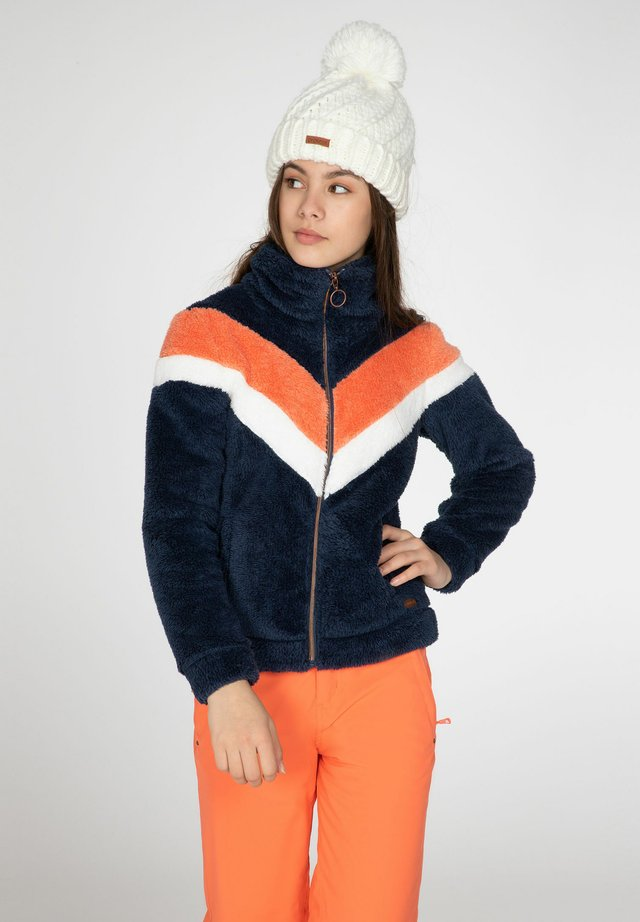 TESS - Fleece jacket - atlantic