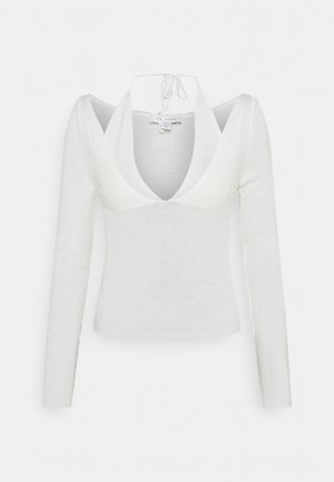 STRAPPY CUT OUT - Jumper - white