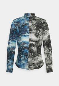 Twisted Tailor - MCAVOY SHIRT - Vapaa-ajan kauluspaita - blue black - 0
