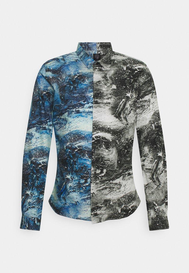 Twisted Tailor - MCAVOY SHIRT - Vapaa-ajan kauluspaita - blue black
