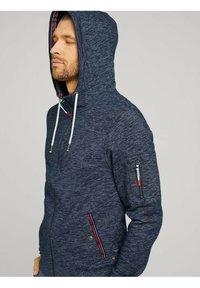 TOM TAILOR - Zip-up hoodie - dark blue - 3