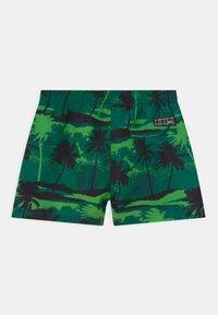 Molo - NIKO - Swimming shorts - black/dark green - 1