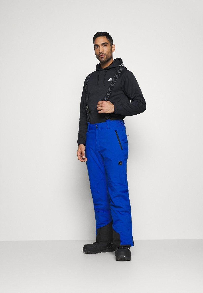 Brunotti - DAMIRO MENS SNOWPANTS - Zimní kalhoty - bright blue