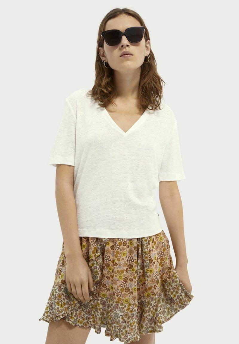 Scotch & Soda - Basic T-shirt - white