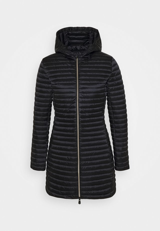 IRIS ALBERTA LONG HOODED COAT - Winter coat - black