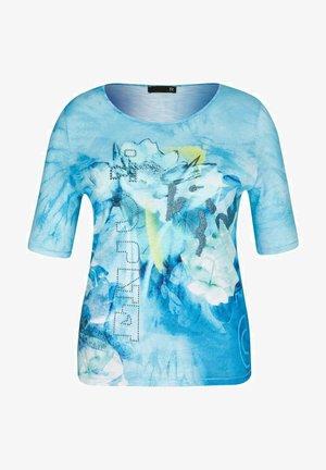 RABE ELEMENTS - Print T-shirt - lagune