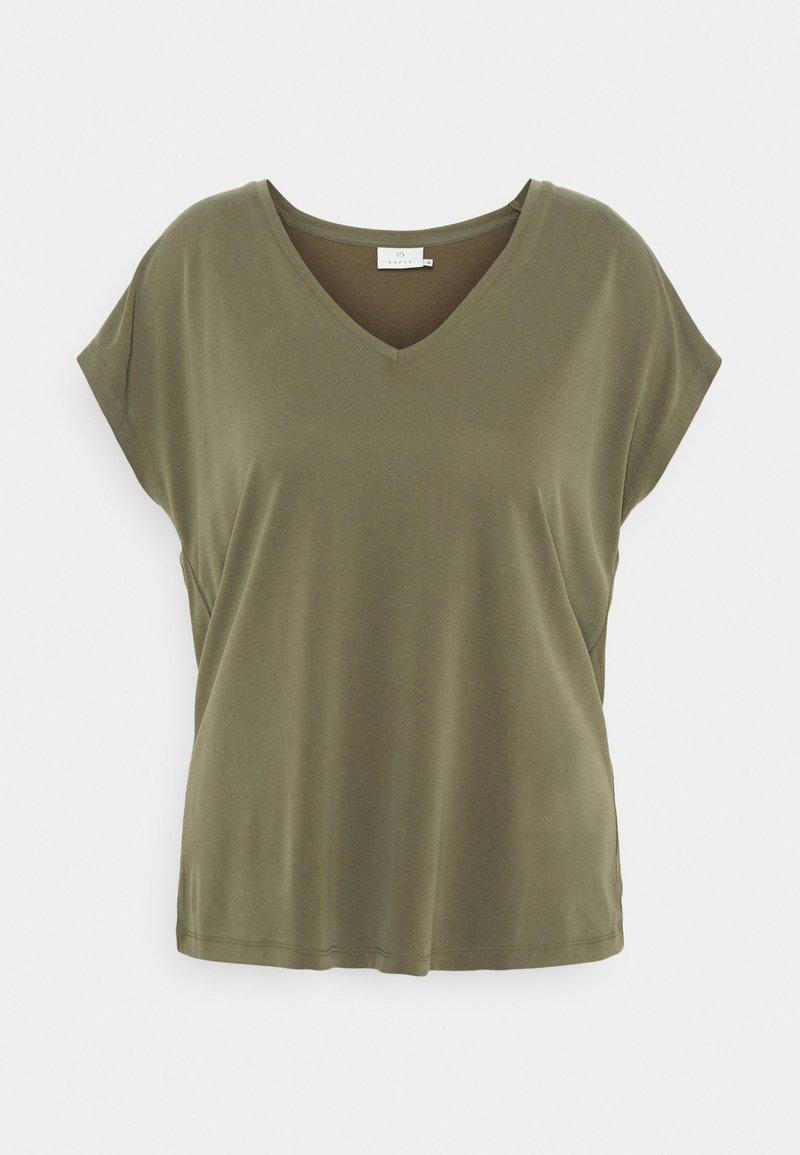 Kaffe - KALISE SS  - Basic T-shirt - grape leaf