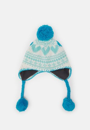 NORDIC BEANIE - Muts - canal blue