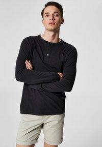Selected Homme - Top sdlouhým rukávem - black beauty - 0