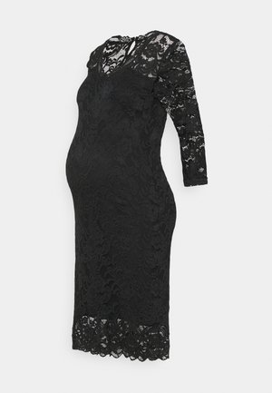 MLMIVANA 3/4 DRESS - Day dress - black