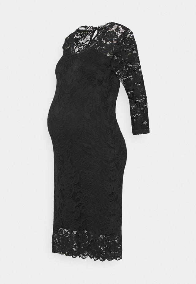 MLMIVANA 3/4 DRESS - Denní šaty - black